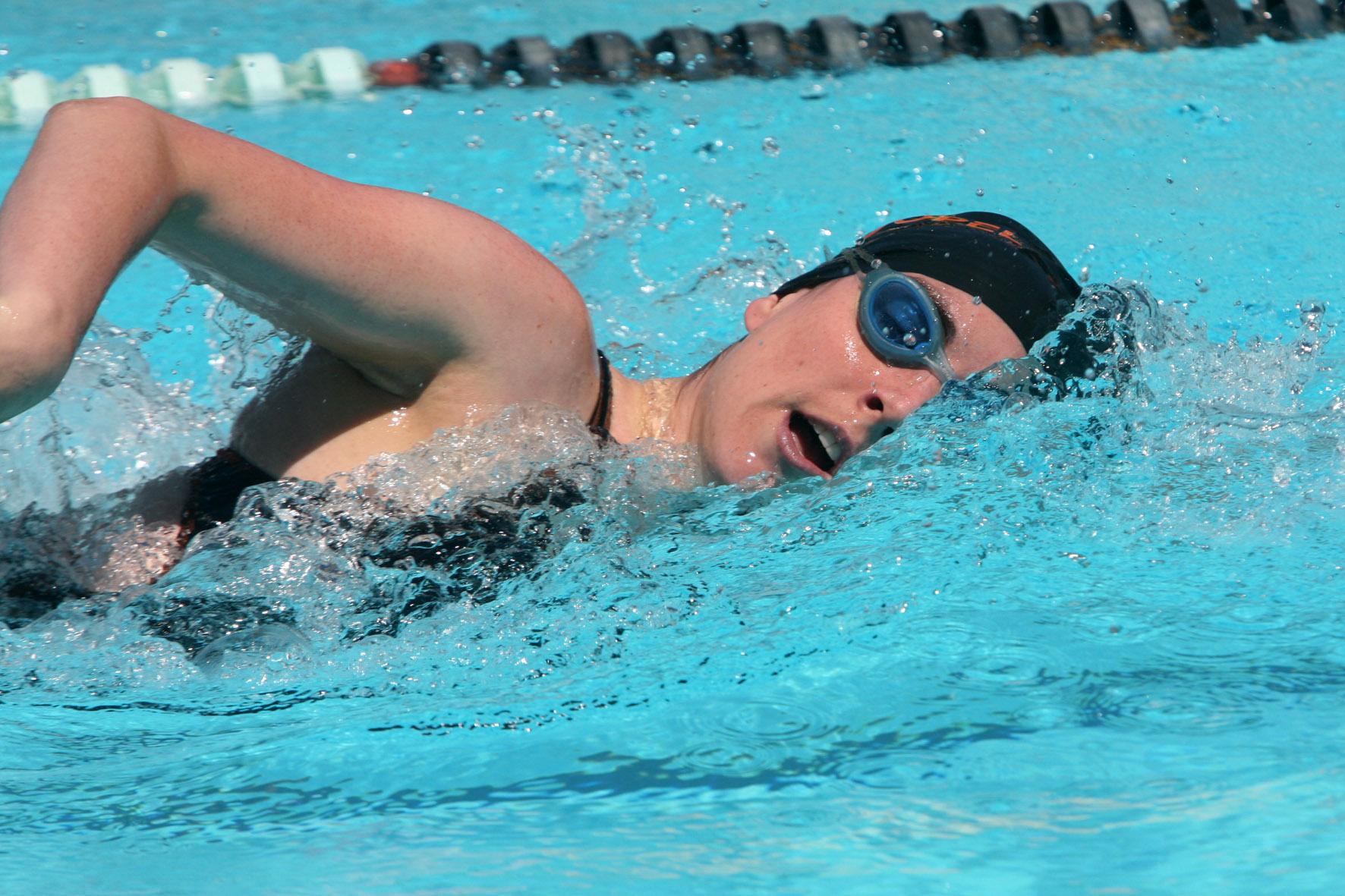 A respiração no nado crawl